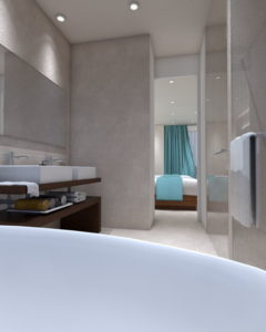 Sophisticated interior - 3D Architectural Visualisation