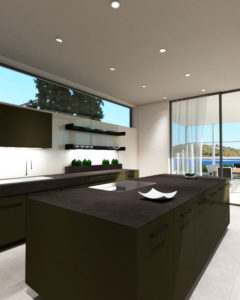 Premium SieMatic kitchen - 3D Rendering